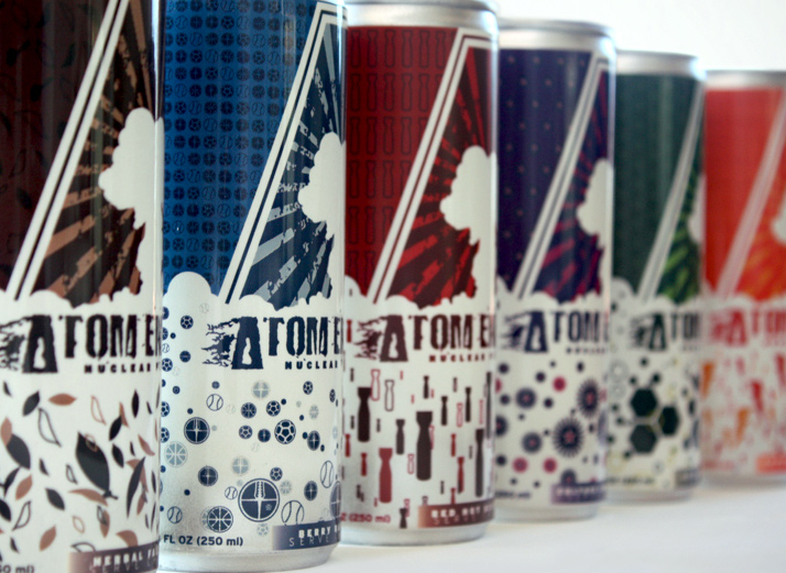 Atom Energy - Energy Drinks